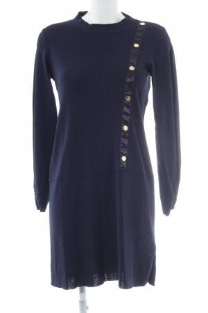 Cortefiel Knitted Dress dark blue casual look