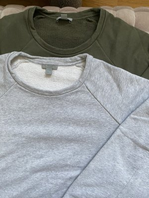 COS Sweat Shirt light grey-khaki