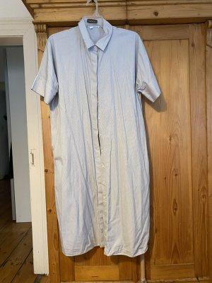 COS Shirtwaist dress white-dark blue
