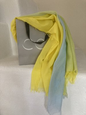 COS Scialle giallo-azzurro