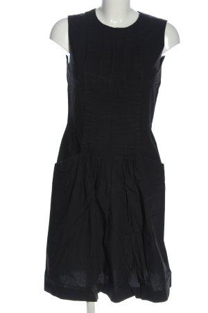 COS A-Linien Kleid schwarz Casual-Look