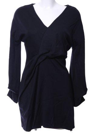 COS A-Linien Kleid schwarz Elegant