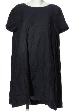 COS A-lijn jurk zwart casual uitstraling