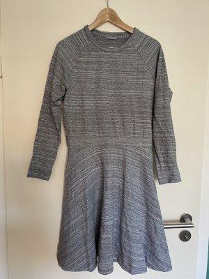Cos a-Linien Kleid grau M
