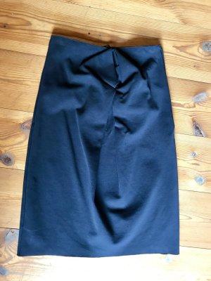 COS Bandeau Dress black cotton
