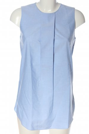 COS Mouwloze blouse blauw casual uitstraling