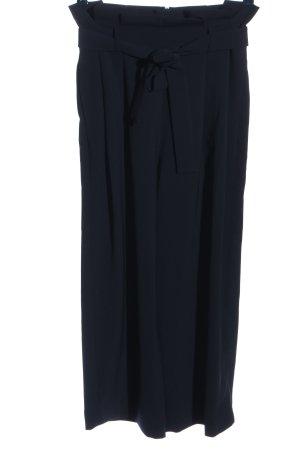 COS Luźne spodnie czarny W stylu casual
