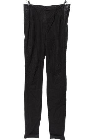 COS Pantalon «Baggy» noir style décontracté