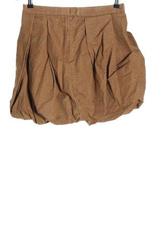 COS Falda globo marrón look casual