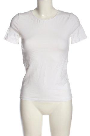 COS Basic-Shirt weiß Casual-Look