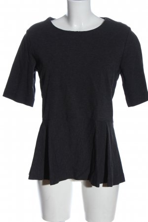 COS Basic-Shirt blau-hellgrau meliert Elegant