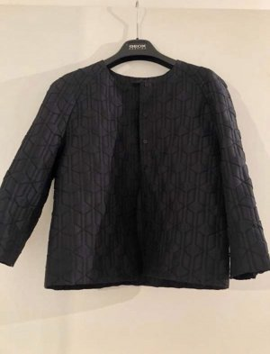 COS Short Blazer black-dark blue
