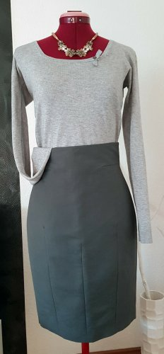 COS Bleistiftrock Pencil Skirt *S/36* Stein Grau High Waist Rock NEU