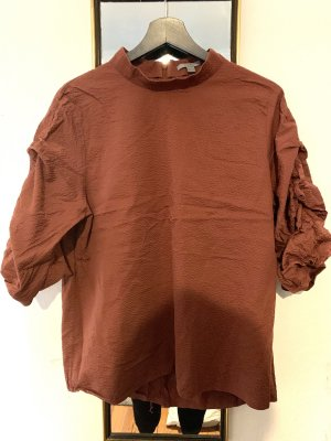 COS Oversized blouse donker oranje