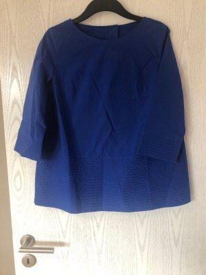 Cos Bluse blau oversize