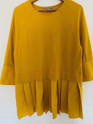 COS Camicetta a maniche lunghe giallo lime-giallo neon