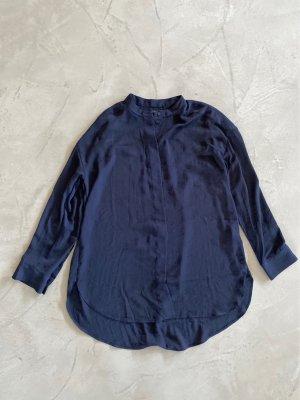 COS Tunique-blouse bleu foncé