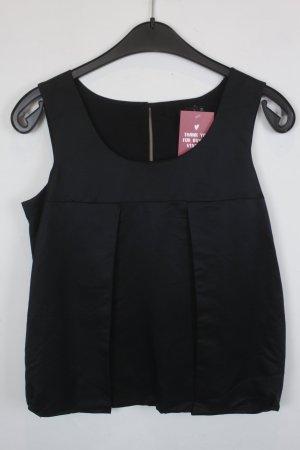 COS Bluse Gr. 36 schwarz mit Seidenanteil (*)