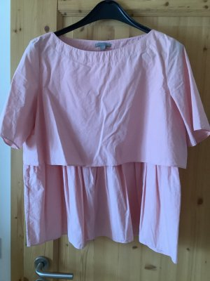 COS Tunic Blouse light pink
