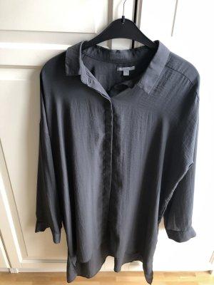 COS Blusa larga gris Poliéster