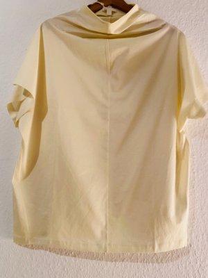 COS Camicetta a maniche corte crema-giallo chiaro