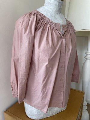 CoS Bluse rosé S Baumwolle