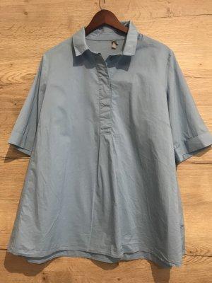 COS Camisa de manga corta azul bebé-azul pálido