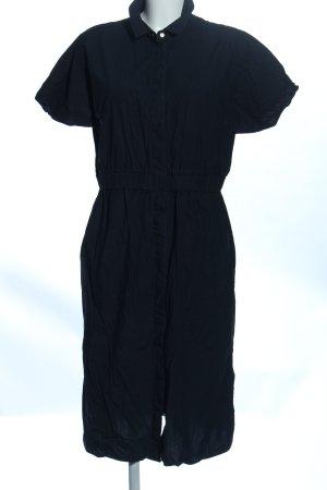 COS Robe chemisier noir style d'affaires