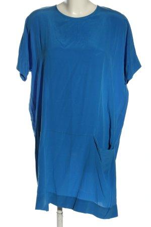 COS Robe chemisier bleu style décontracté