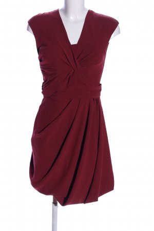 COS Robe chemisier rouge élégant