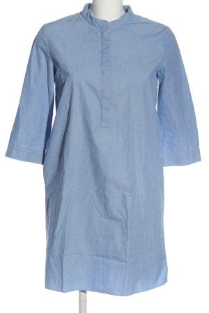 COS Vestido camisero azul Algodón