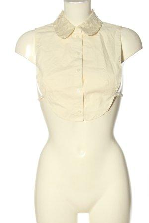 COS Colletto camicia bianco stile casual