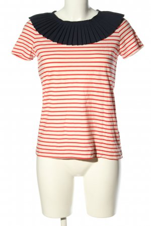 COS Blouse Collar striped pattern casual look
