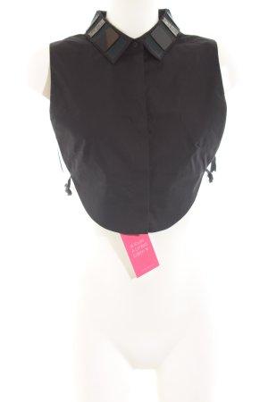 COS Blusenkragen schwarz Elegant