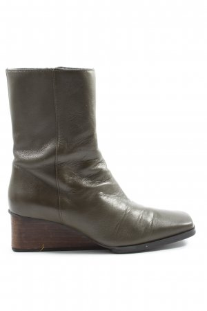COS Booties khaki Casual-Look