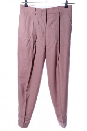 COS Bundfaltenhose pink meliert Business-Look