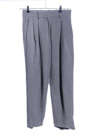 COS Pleated Trousers light grey flecked casual look