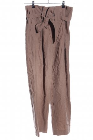 COS Pleated Trousers brown flecked casual look