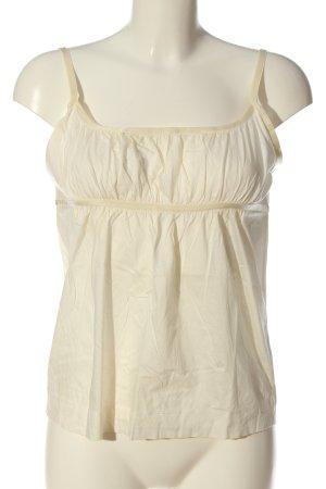 COS Podkoszulek na ramiączkach w kolorze białej wełny W stylu casual