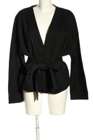 COS Cardigan zwart gestreept patroon casual uitstraling