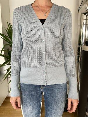 COS Veste en tricot bleu pâle