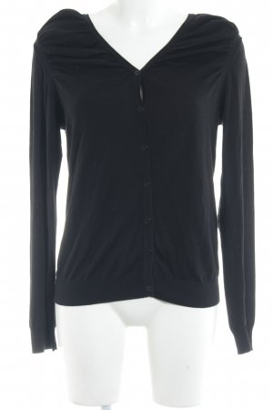 COS Cardigan schwarz schlichter Stil