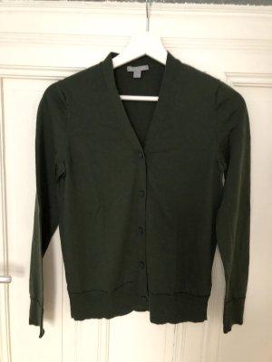 COS Pull en laine vert foncé laine