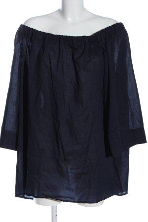 COS Carmen-Bluse blau Casual-Look