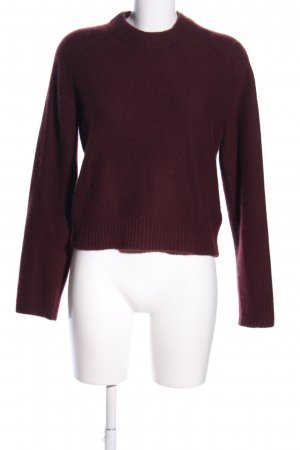 COS Cashmere Jumper red business style