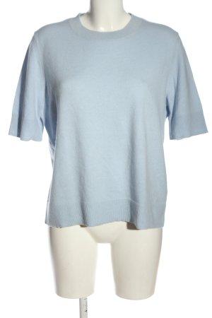COS Kasjmier trui blauw casual uitstraling