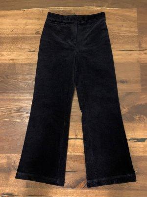 COS Corduroy Trousers dark blue