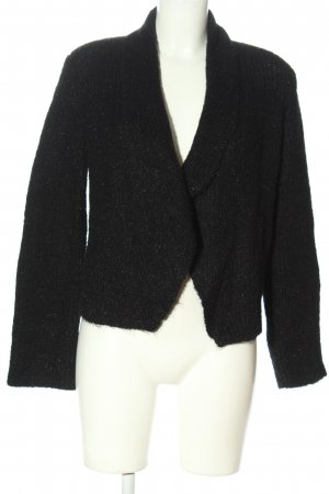COS Cropped Pullover schwarz Business-Look