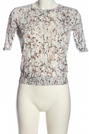 COS Cropped shirt abstract patroon casual uitstraling