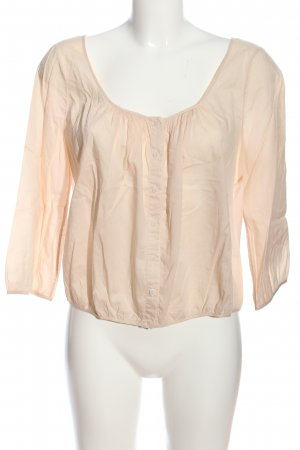 COS Cropped Top creme Casual-Look